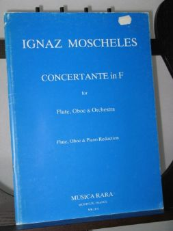 Moscheles I - Concertante in F arr Dechant H